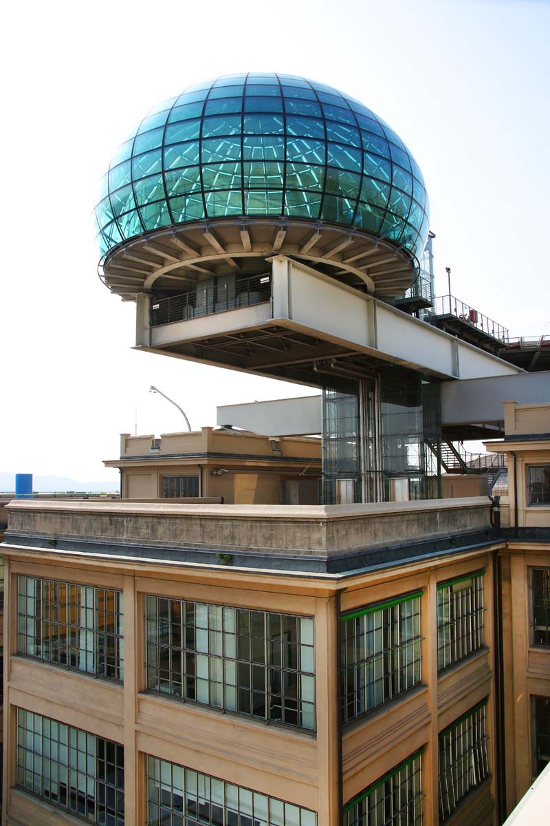 Fiat HQ Lingotto Building Turin